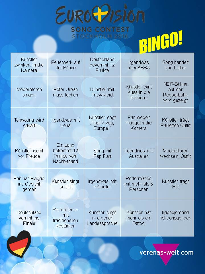Esc Bingo